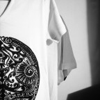 t shirt ethnique blanc