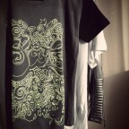 t shirt green soul black