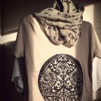 t shirt ethique beige