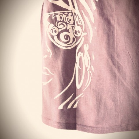 t shirt a little bit of soul violet