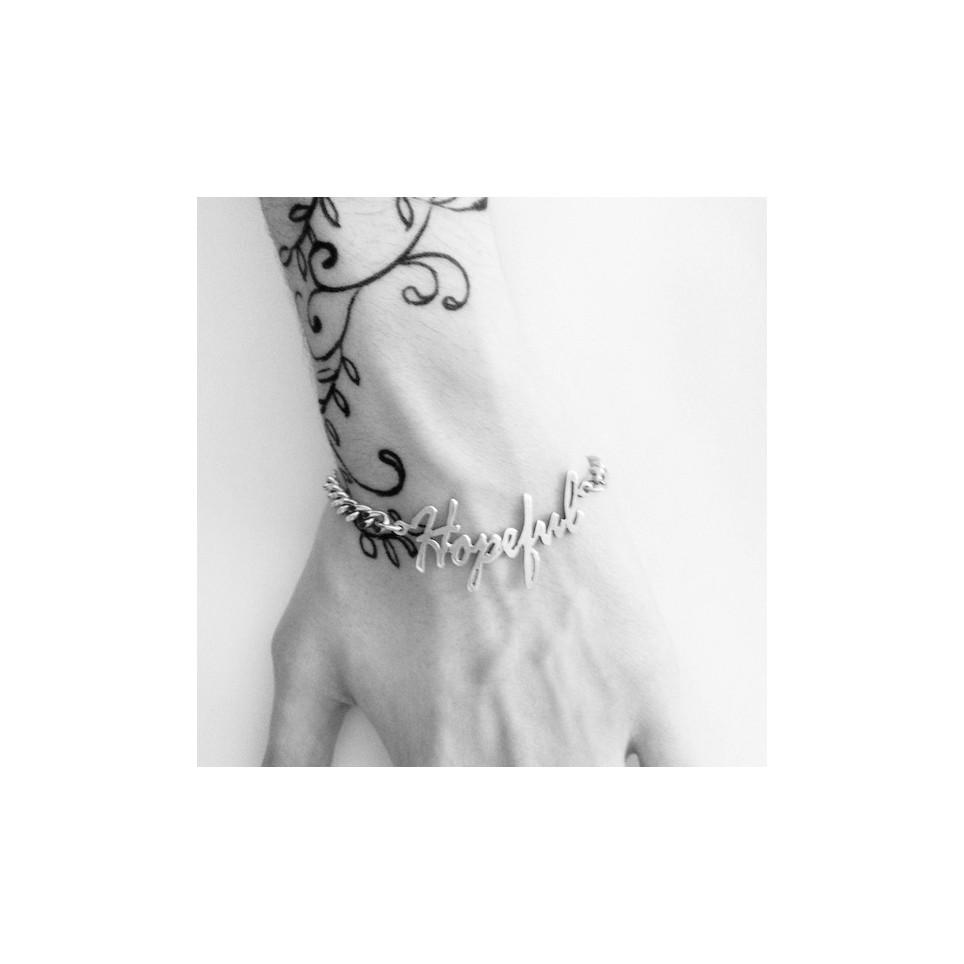 bracelet  hopeful chaine