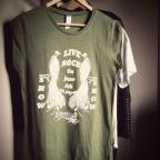 tunique rock show green