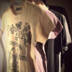 t shirt accro jaune