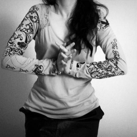 t shirt tattoo me