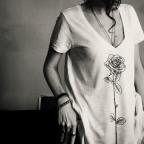 T shirt Tender rose