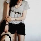 T shirt message dreamer